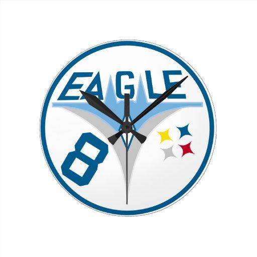 Escuadrilla 07 del cadete reloj redondo mediano