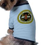 Escuadrilla anfibia una de la marina de guerra camisas de perritos