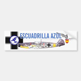 ESCUADRILLA AZUL BUMPER STICKER