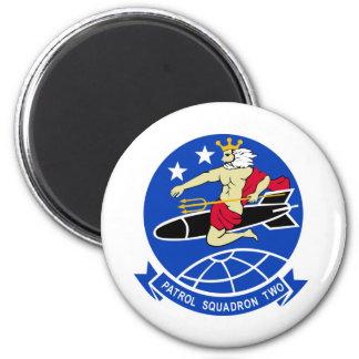 Escuadrilla de la patrulla VP-2 Imán Redondo 5 Cm
