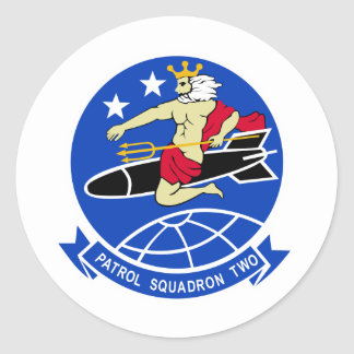 Escuadrilla de la patrulla VP-2 Pegatinas Redondas