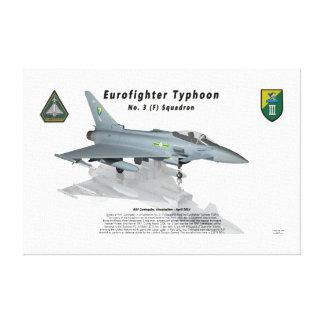 Escuadrilla de no. 3 del tifón de Eurofighter con  Impresiones En Lona