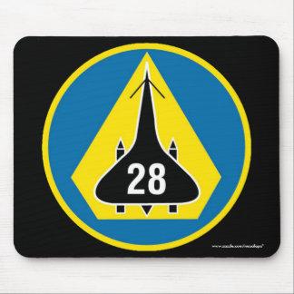 """Escuadrilla del cadete de USAFA 28"""" cojín de ratón Alfombrillas De Raton"""