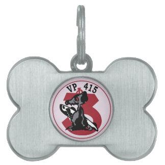 Escuadrilla Pat marítimo de la escuadrilla del Placas Mascota