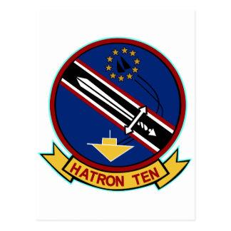 Escuadrilla pesada 10 del ataque VAH-10 Postal