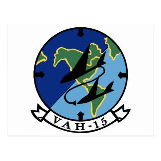 Escuadrilla pesada del ataque VAH-15 Postal