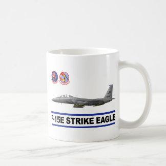 Escuadrón de caza de Eagle de la huelga de F-15E 4 Tazas