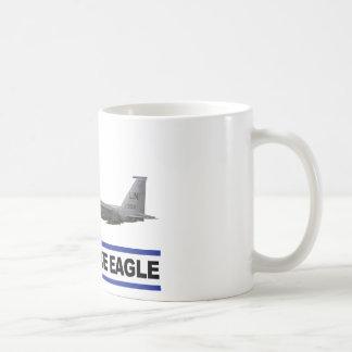 Escuadrón de caza de Eagle de la huelga de F-15E 4 Tazas De Café