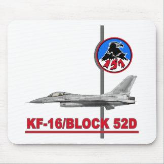 Escuadrón de caza KF-16 157o Tapete De Ratones