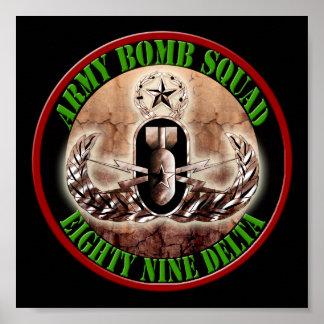 Escuadrón de la muerte principal #001 del EOD Poster