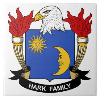 Escuche el escudo de la familia teja