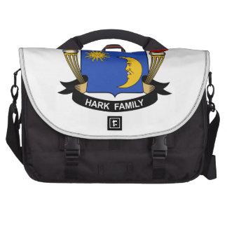 Escuche el escudo de la familia bolsas de portatil