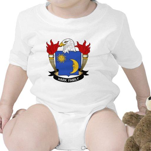 Escuche el escudo de la familia camiseta