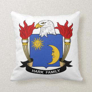 Escuche el escudo de la familia almohadas
