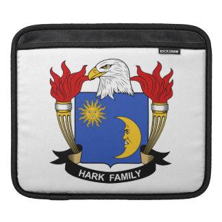 Escuche el escudo de la familia fundas para iPads