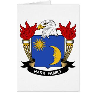 Escuche el escudo de la familia tarjeton