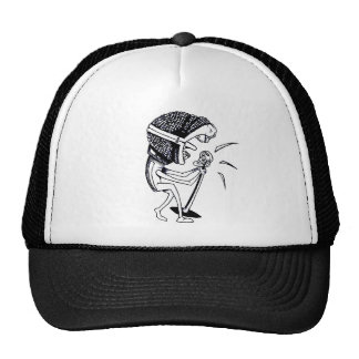 Escuche el gorra del camionero de la música