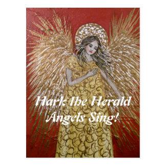 Escuche la postal del navidad de los ángeles de He