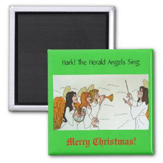 ¡Escuche! Los ángeles de The Herald cantan Imán Cuadrado