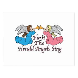 ¡Escuche! Los ángeles de The Herald cantan Tarjetas Postales