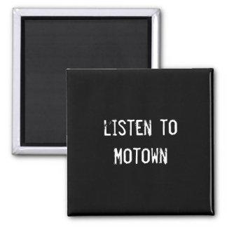 escuche Motown Imanes Para Frigoríficos