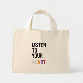 Escuche su corazón - bolso bolsa de mano