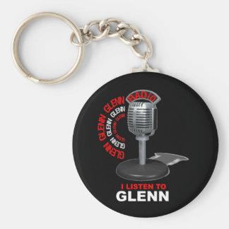 Escucho Glenn Llavero Redondo Tipo Pin