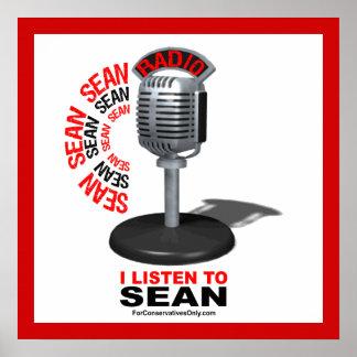 Escucho Sean Poster