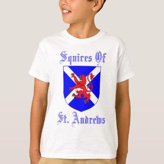 Escuderos de Saint Andrews Playera