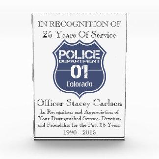 Escudo 01 del Departamento de Policía de Colorado