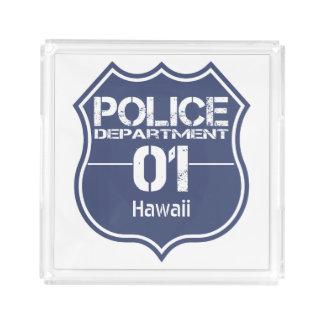 Escudo 01 del Departamento de Policía de Hawaii