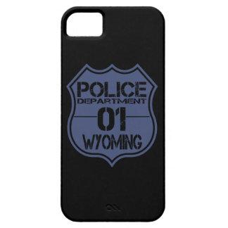 Escudo 01 del Departamento de Policía de Wyoming iPhone 5 Cárcasa