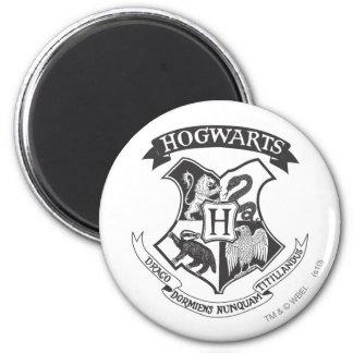Escudo 2 de Hogwarts Imán De Frigorifico