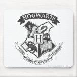 Escudo 2 de Hogwarts Tapetes De Ratón