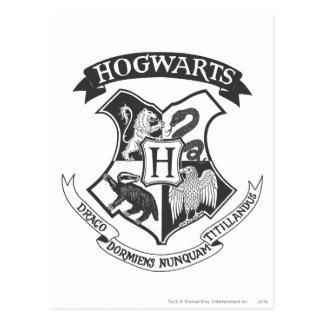 Escudo 2 de Hogwarts Postal