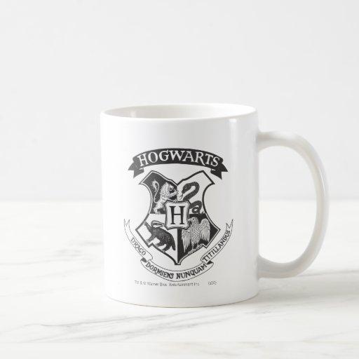 Escudo 2 de Hogwarts Tazas