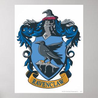 Escudo 2 de Ravenclaw Póster