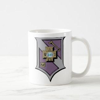 Escudo 4-Color de la sigma pi Taza De Café