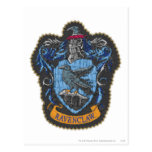 Escudo 4 de Ravenclaw Postales