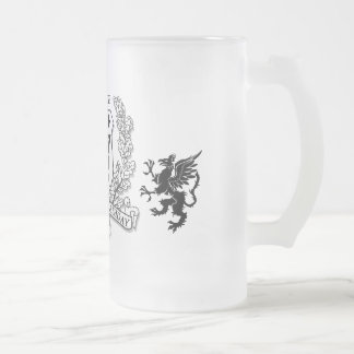 Escudo 60.o de la familia del escudo de armas taza de café