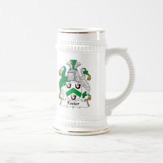 Escudo adoptivo de la familia jarra de cerveza