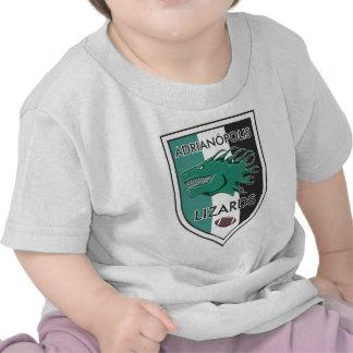Escudo Adrianópolis Lizards Camiseta