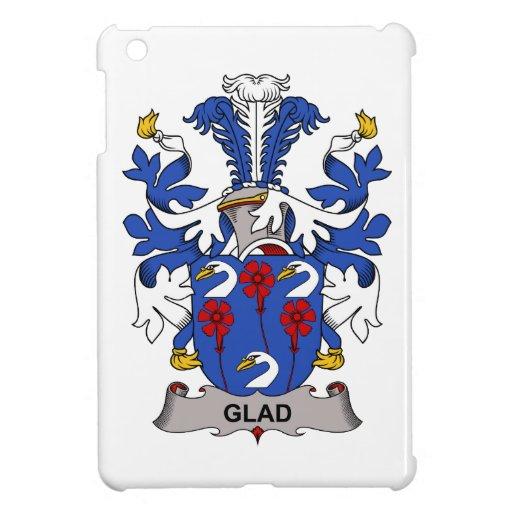Escudo alegre de la familia iPad mini carcasa