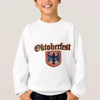 Escudo alemán del Fest de OKTOBERFEST Sudadera
