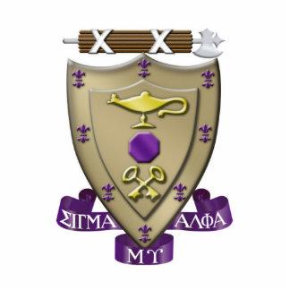 Escudo alfa de MU de la sigma Fotoescultura Vertical