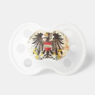Escudo austríaco chupete de bebé