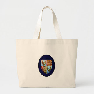 Escudo BG azul de la iglesia de Inglaterra Cantorb Bolsa