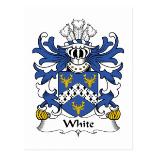 Escudo blanco de la familia postal