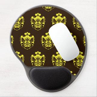 Escudo Brown amarillo de la familia Alfombrilla Gel