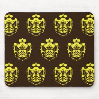 Escudo Brown amarillo de la familia Alfombrillas De Raton